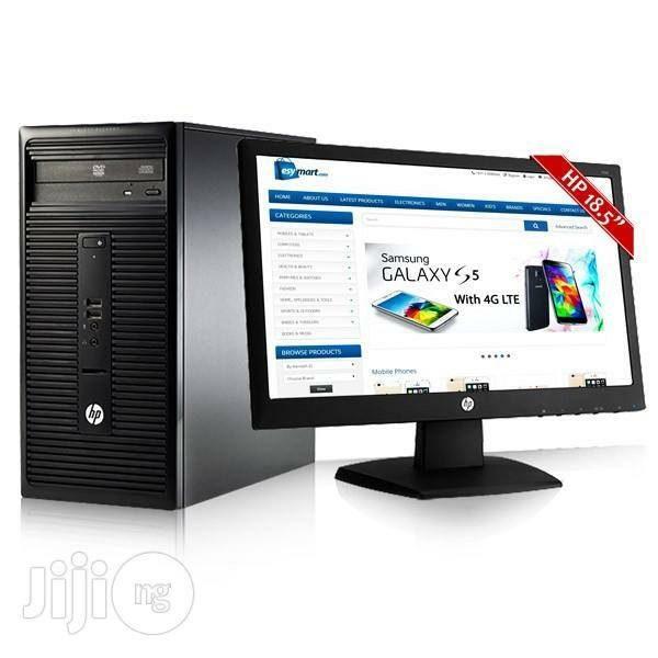 """Ordinateur HP 280 G1 2G/500G/ 3GHZ+ECRAN 18.5"""""""